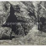玄观之十一 套色木刻 66X77cm 2012年_副本