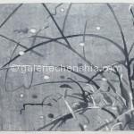 玄观之十 水印木刻 50X90cm  2012年_副本