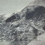 颤动的山地 绝版木刻  85×110cm  2009年 副本副本 副本