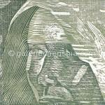 09北渚·肖像B 29×34cm  1994套色木刻_副本