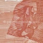 10北渚·肖像C 29×34cm  1994套色木刻_副本