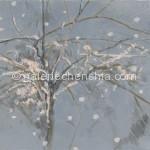 39冬树之一 丙烯38×57cm 2011年_副本