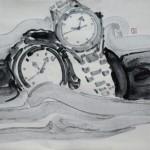 14《物语·永恒之七》-纸本水墨-30X40CM-2012年