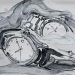 15《物语·永恒之八》-纸本水墨-30X40CM-2012年