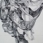 4《骊影·虎山行》-纸本水墨-60X120CM-2013年
