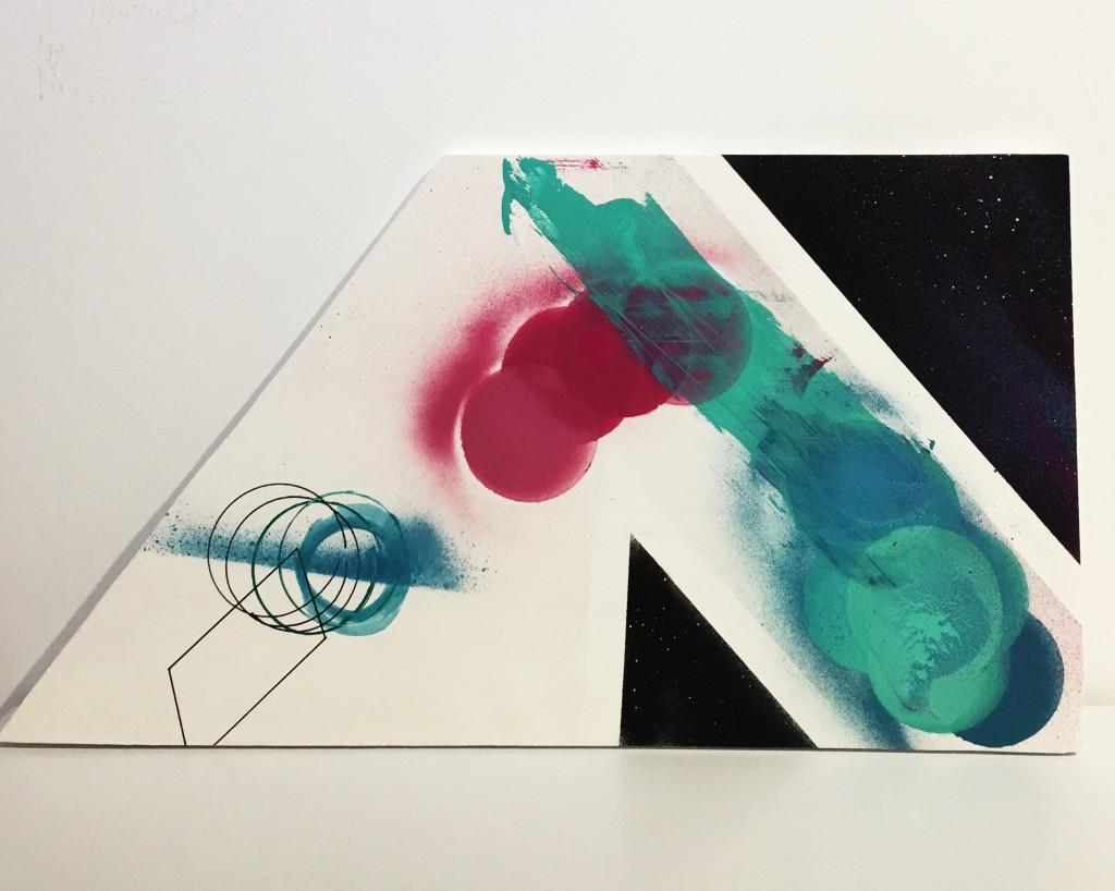 《不规则无题》密度板 喷漆32x35x40x59
